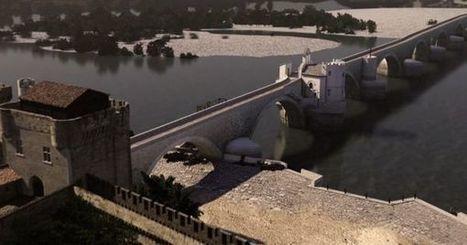 A quoi ressemblait le pont d'Avignon au Moyen Age | Ca m'interpelle... | Scoop.it