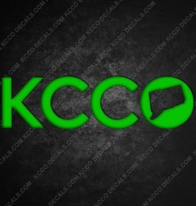 #Connecticut #KCCO Sticker - KCCOdecals.com | KCCO | Scoop.it
