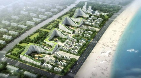 [Tianjin, Binhai, China] Dongjiang Harbor Master Plan / HAO + Archiland | The Architecture of the City | Scoop.it