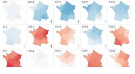Comment le climat de la France s'est réchauffé depuis 1900 | Culture | Scoop.it