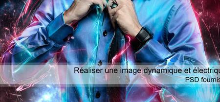Réaliser une image dynamique et électrique avec Photoshop ... | kitar | Scoop.it