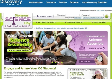 Discovery Education | Siemens Science Day | Teaching in the XXI century | Scoop.it