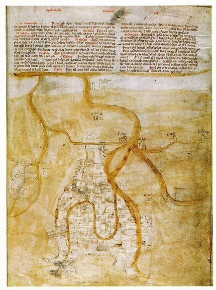 Tweet from @bibliomarciana | mappe storiche | Scoop.it