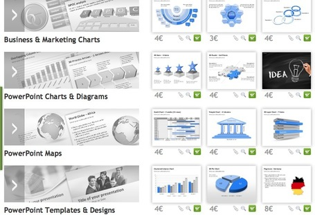 A PowerPoint Online Store for Single-Slides, Charts and Diagrams: Charteo | Presentation Tools | Scoop.it
