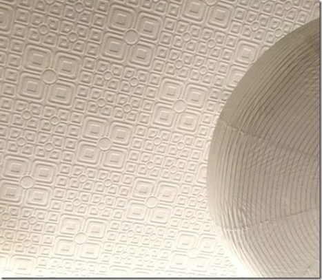 Anaglypta Wallpaper On Ceilings - The Perfect Coverup To Hide Ugly Ceilings - Wow Wallpaper Hanging | Interior Wallpaper | Scoop.it