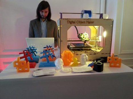 L'impression 3D: des débouchés prometteurs qui restent à développer | Baueric - Economie numérique | Scoop.it