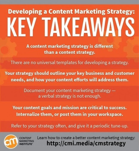 Developing a Content Strategy | Content Marketing & Content Strategy | Scoop.it