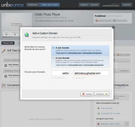 Create the Ultimate Landing Page With Unbounce | Time to Learn | Scoop.it