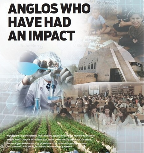 ANGLOS WHO HAVE HAD AN IMPACT - Jewish Action | Jewish Education Around the World | Scoop.it