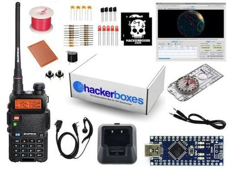 HackerBoxes 0003: Amateur Radio, Arduino Nano, Satellites, Packet, APRS | Arduino, Netduino, Rasperry Pi! | Scoop.it