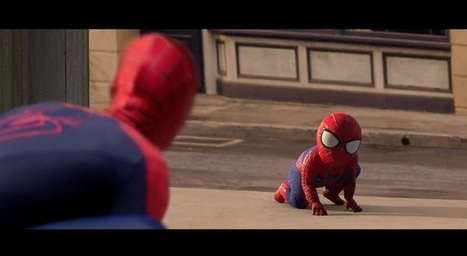 Baby be my guest, Spider-Man!   Brand Content , pub &  Vidéo Commerce By JODEE   Scoop.it