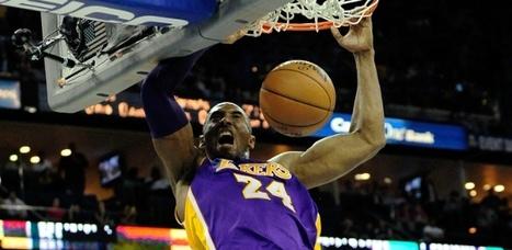 Kobe Bryant chega aos 30 mil pontos na carreira, bate recorde e comanda vitória dos Lakers | esportes | Scoop.it