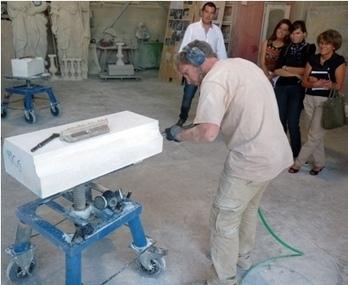 Découvrir le métier de tailleur de pierre | Ils Vienne à Toi | Tourisme en pays viennois | Scoop.it
