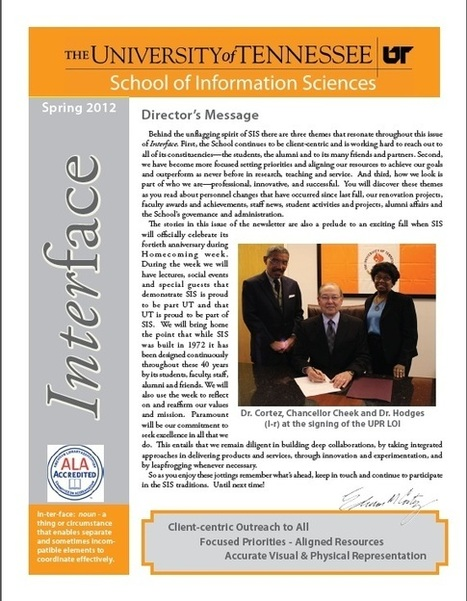 13 Scholarships Available | School of Information Sciences | Tennessee Libraries | Scoop.it