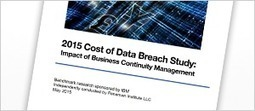 IBM 2015 Cost of Data Breach Study - United States | Data Protection | Scoop.it