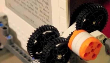 Lego robot that strips DRM off Kindle books | New Media & Society | Scoop.it