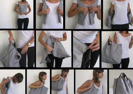 Wear Me Bag by Rotem Lewinsohn » Yanko Design | Artdictive Habits : Sustainable Lifestyle | Scoop.it