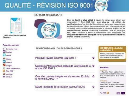 La norme ISO 9001 change de peau en 2015 | Système de Management par la Qualité | Scoop.it
