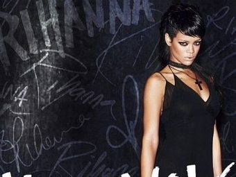 "Rihanna Goes Ghetto Goth For ""What Now"" Single Artwork - Idolator: All About The Music 