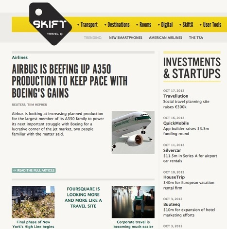 The Travel Business News Universe Curated by Skift.com | MEDIACLUB | Scoop.it