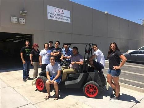 Local Motors partners with UNLV on autonomous, self-driving 3D printed cars | Heron | Scoop.it