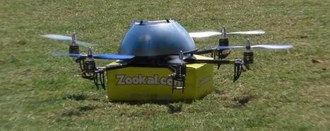 Une start-up australienne décide de livrer ses produits par drone   innovation  idées start up   Scoop.it