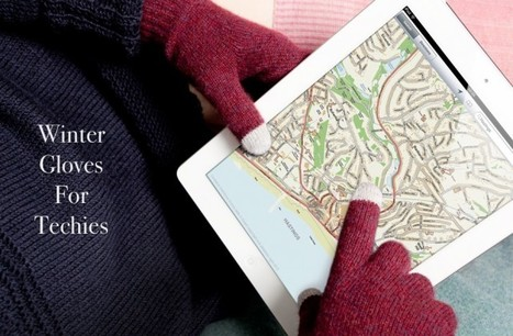 Six Winter Gloves For Gadget Lovers You Have To See To Believe | iPads in Education Daily | Scoop.it