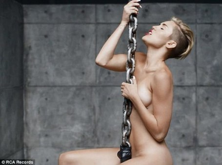 Miley Cyrus did it again goes fully naked in the video performing Wrecking Ball.I came in like a wrecking ball | Education and Breaking News | Scoop.it