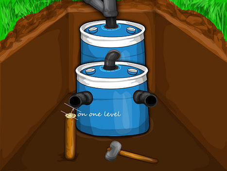 A small DIY septic system - Off-Grid   Soakaway Design   Scoop.it