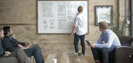 Une solution peut convertir des notes présentes sur un tableau blanc au format numérique - HelloBiz | tableau blanc interactif | Scoop.it