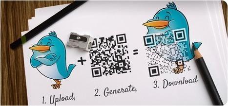 Vers des QR codes plus esthétiques? - Blog Tagging Mobile | Tagging Mobile | Scoop.it
