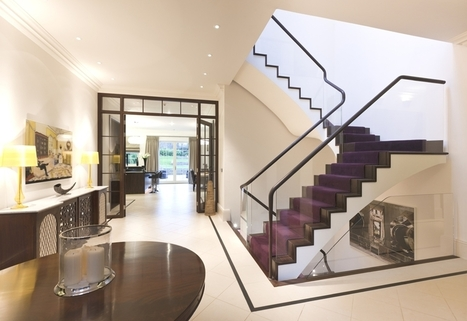 10 Staircase Design Ideas for a Contemporary Home | Adelto | Designing Interiors | Scoop.it