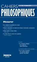 Revue Cahiers philosophiques 2013/4, Mesurer - Cairn.info | Philosophie en France | Scoop.it