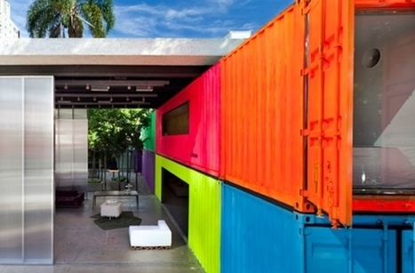 Five homes made from shipping containers | Architecture and Architectural Jobs | Scoop.it