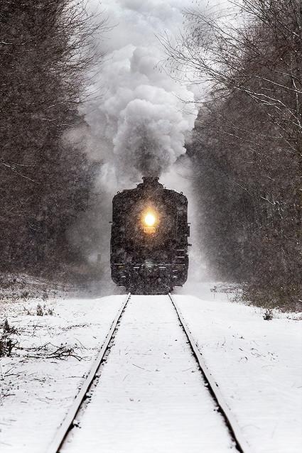 Winter Train by Jonathan Steele | Flipboard | Scoop.it