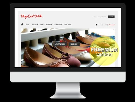 BlogrCart Butik FREE Responsive Blogger Store Theme | Blogger themes | Scoop.it