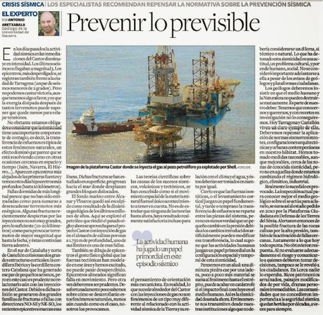 ANTONIO ARETXABALA: LA FALLA CASTOR Y LA TIERRA | ciència | Scoop.it