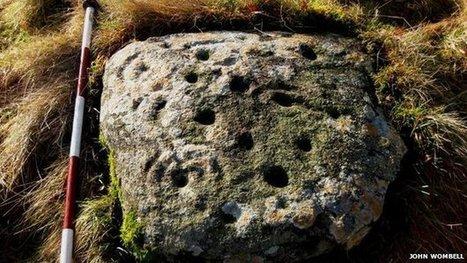 Rare prehistoric rock art found | Aux origines | Scoop.it