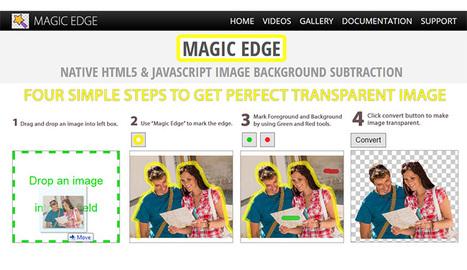 Deux outils en ligne pour effacer facilement l'arrière-plan de vos photos - Freewares&tutos | divers | Scoop.it