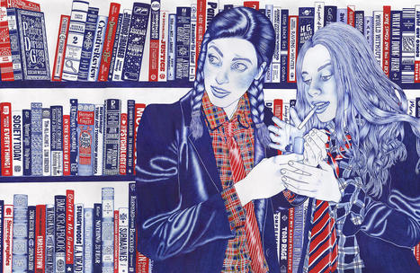 Awesome Ballpoint Drawings Of Teens Having Fun! | Art contemporain, photo & multimédias | Scoop.it