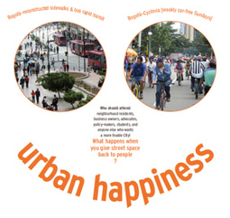 Can Cities Help You Forget Your Troubles? C'mon, Get Happy!   PlaceMakers   urban designs   Scoop.it