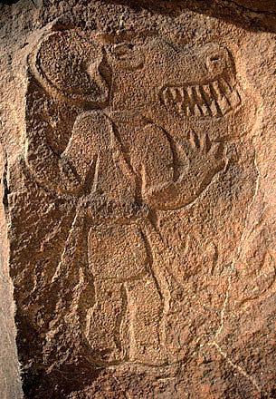 HAL-SHS :: [halshs-00932254, version 1] Des mythes préhistoriques ont-ils pu survivre au dépeuplement du Sahara? Le cas des hommes-chiens. | Intervalles | Scoop.it