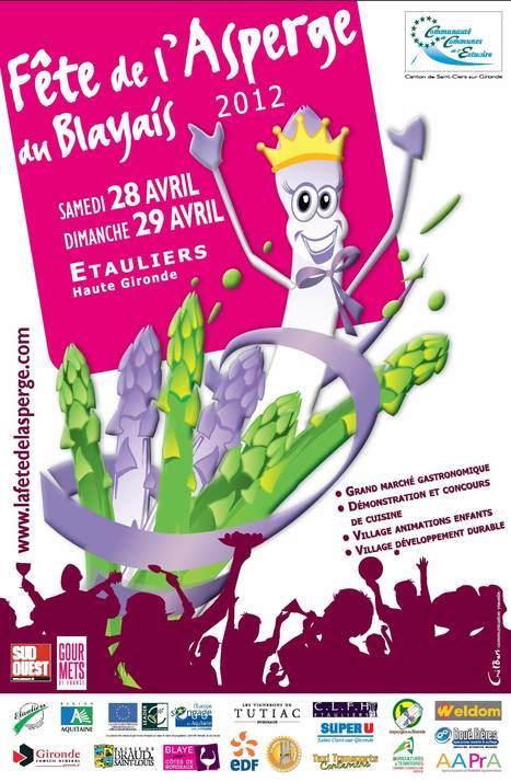 La Fête de l'Asperge du Blayais | Bienvenue dans l'estuaire de la Gironde | Scoop.it