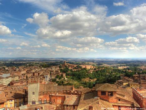 View to the countryside in Siena, Italy | Italia Mia | Scoop.it