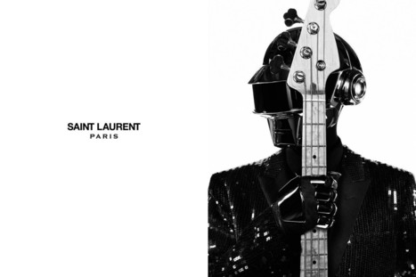 Les Daft Punk habillés par Yves Saint Laurent | Social Media Localization | Scoop.it