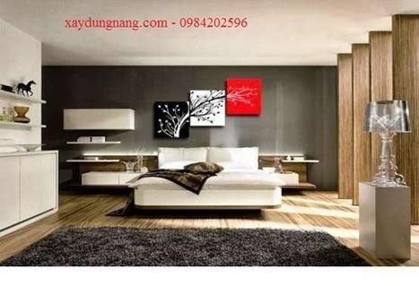 Sơn tường nghệ thuật, sơn tường phòng đọc sách tại Tp HCM | Sơn tường hcm | xaydungnang | Scoop.it