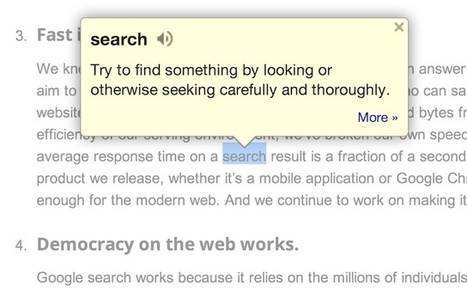 Google Dictionary (by Google)   Blended Learning in Higher Ed   Scoop.it
