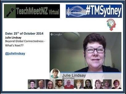 TeachMeetNZ Julie Lindsay | Australian Curriculum Resources | Scoop.it
