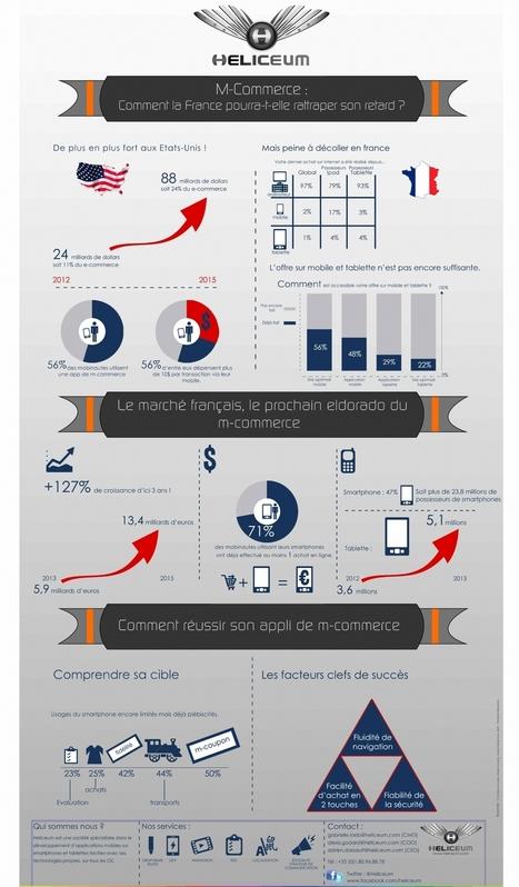 Infographie | M-commerce : quid du retard français? | Web & Mobilité | Scoop.it