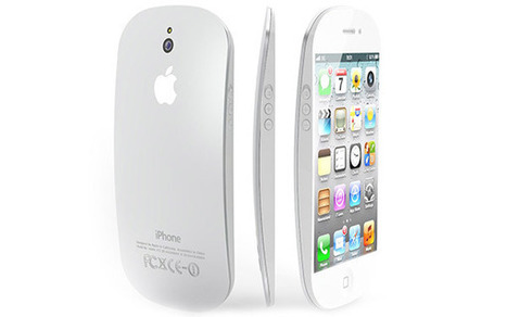 Gorgeous iPhone 5 Concept: iPhone + Magic Mouse hybrid | Gadgets I lust for | Scoop.it